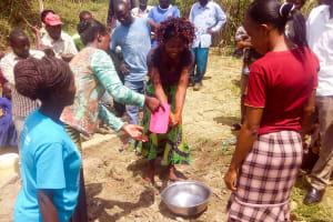 The Water Project: Luvambo Community, Tindi Spring -  Handwashing Training