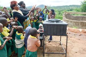 The Water Project: Nzalae Primary School -  Handwashing Training
