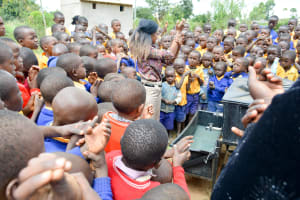 The Water Project: Wee Primary School -  Handwashing Training