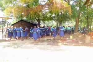 The Water Project: Mukunyuku RC Primary School -  Students