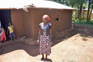 The Water Project: Mungakha Community, Nyanje Spring -  Jacklie Okhaso At Her Home