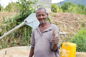 The Water Project: Muselele Community A -  Mbaluto Mavoi