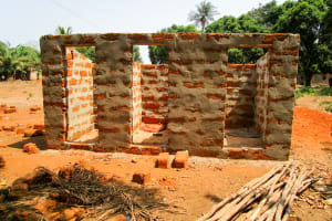 The Water Project: Malokoh Community, #4 Mabesseneh Road -  New Latrine Construction