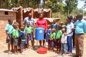 The Water Project: Shitsava Primary School -  Handwashing Training