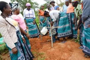 The Water Project: Ilandi Community A -  Handwashing Training