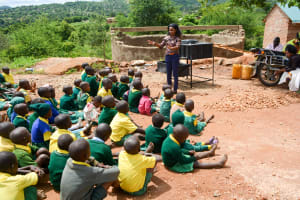 The Water Project: Nzalae Primary School -  Training