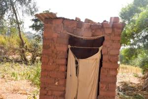 The Water Project: Munyuni Community -  Kithunzi Latrine