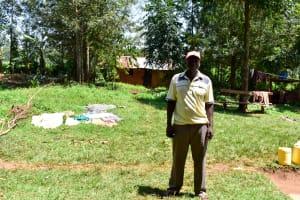 The Water Project: Mungakha Community, Nyanje Spring -  Patrick Nyanje