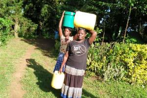 The Water Project: Mungakha Community, Asena Spring -  Community Members