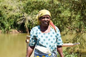 The Water Project: Kithuluni Community A -  Regina Kalekye