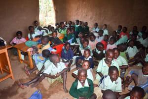 The Water Project: Eshikufu Primary School -  Inside Classroom