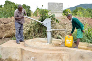 The Water Project: Muselele Community A -  A Year With Water