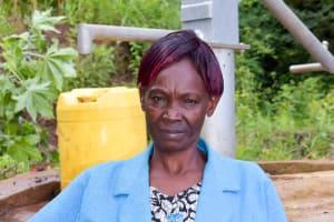 The Water Project: Kaani Community E -  Dorcas Muinde