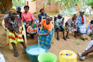 The Water Project: Mbau Community -  Making Soap