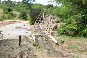 The Water Project: Kivani Community B -  Sand Dam Construction