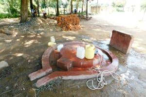 The Water Project: Mukunyuku RC Primary School -  Well