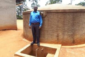 The Water Project: Shipala Primary School -  Mr David Amuhaya