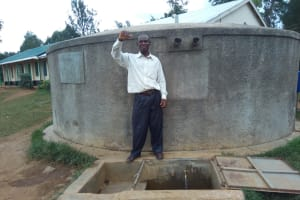 The Water Project: Rosterman Secondary School -  Mr Alfred A Teacher At Rosterman Secondary School