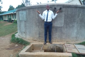 The Water Project: Rosterman Secondary School -  Peter Oyengo Student At Rosterman Secondary School