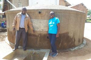 The Water Project: Mahanga Primary School -  Albert Anjiji