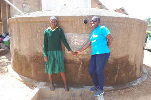 The Water Project: Mahanga Primary School -  Ruth Ambia