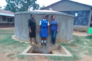 The Water Project: Matende Girls High School -  Claire Amakove And Rodesia Takaundo