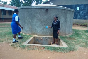 The Water Project: Matende Girls High School -  Collecting Water