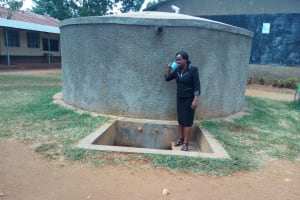 The Water Project: Matende Girls High School -  Deputy Head Rodesia Takaundo