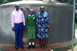The Water Project: Kapchemoywo Girls Secondary School -  Janet And Irene