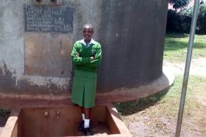 The Water Project: Kapchemoywo Girls Secondary School -  Janet Chepchirchir