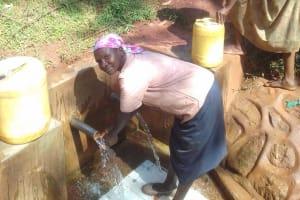 The Water Project: Visiru Community, Kitinga Spring -  Florence Makungu