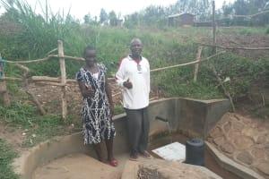 The Water Project: Eshiakhulo Community, Omar Sakwa Spring -  Asher Were And Omar Sakwa
