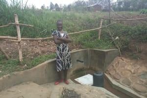 The Water Project: Eshiakhulo Community, Omar Sakwa Spring -  Asher Were