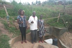 The Water Project: Eshiakhulo Community, Omar Sakwa Spring -  Omar Sakwa And Asher Were