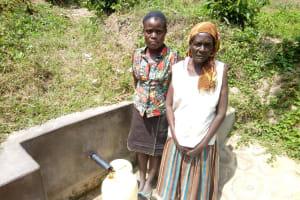 The Water Project: Shikoti Community -  Jenipher Makokha And Josephine Muyuka