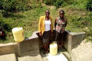 The Water Project: Shikoti Community -  Josephine Muyuka
