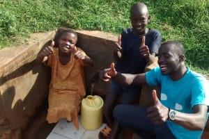 The Water Project: Mahanga Community -  Pauline Esendi And Peter Ewoi