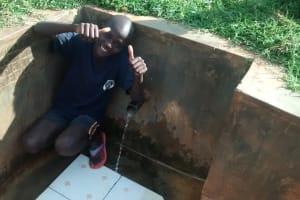 The Water Project: Mahanga Community -  Peter Ewoi