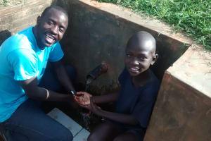 The Water Project: Mahanga Community -  Peter
