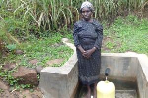 The Water Project: Murumba Community, Muyokani Spring -  Margaret Atieno