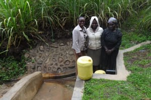 The Water Project: Murumba Community, Muyokani Spring -  Smiles For Reliable Water