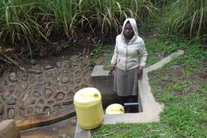 The Water Project: Murumba Community, Muyokani Spring -  Sophia Amurale