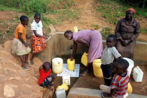 The Water Project: Futsi Fuvili Community, Futsi Fuvili Spring -  Smiles For Safe Water