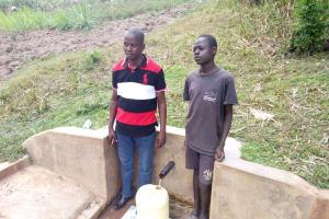 The Water Project: Handidi Community, Kadasia Spring -  Simon Amwaya