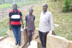 The Water Project: Handidi Community, Kadasia Spring -  Zachary Kadasia
