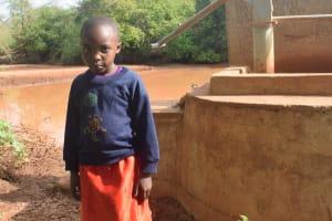 The Water Project: Maluvyu Community A -  Katheu Muema