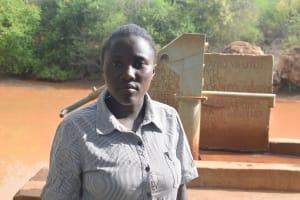 The Water Project: Maluvyu Community A -  Laureen Muoki