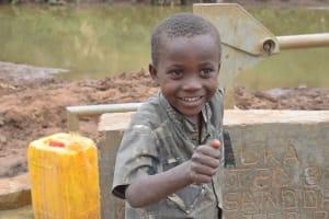 The Water Project: Kaani Community B -  Caleb Wambua