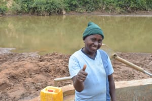 The Water Project: Kaani Community B -  Patricia Mbithe