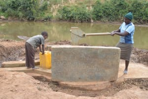 The Water Project: Kaani Community B -  Pumping Well